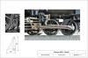 Hängeeisen und Bremsklotz nun anhand des Bildausschnitts links für das Modell abgeleitet und in Endgröße zeichnerisch an das Modell angefügt. So könnte es aussehen, natürlich mit einem vollständigem Bremsgestänge unter der Lok!