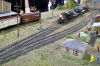 The first pictures from moving the painted pressure tank, which is pulled by the small G1 as an Extra train - on a large layout while a model train exhibition.