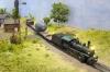 Unterwegs auf dem Land, war es da die Pondarosa-Ranch, die der Zug gerade passiert?
