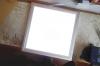 Ein weiteres wichtiges Utensil, ein ''Licht-Arbeitstisch''. Einfach ein handelsübliches LED-Paneel.