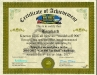 My certificate of achivement at a contest of the US forum ''Big Blue'', where I achieved a second place with this model for its reworking and detailing.
