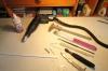 Ausgangsmaterialien und Werkzeuge