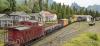 Hier einmal nahezu alle meine Modelle, die den Weg nach England gefunden haben, in einem Zug auf der Anlage von Rob zusammengestellt. Schön, wie immer!