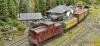 Zwei Züge in Mortimer station - als Vorbereitung für einen Video-Clip!