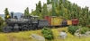 A so simple picture, a loco and four cars and a bit landscape, all! However how it's photographed again!
