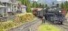 A train arrives Atherton