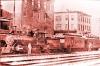 Eines der vielen Vorbilder, das mich so inspiriert hatte, Lok, Combine und Coach, auch wenn es hier ein Bild von der East Broad Top Railroad ist, eine Schmalspurbahn.