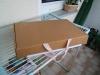 Und fertig ist die Laube! Äh ..., der Karton.