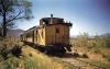 Dieser Zug unterwegs in den Weiten von Colorados Prairie.
