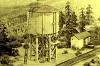 Was braucht eine Lokomotive insbesondere neben Kohle? Wasser natürlich! Also muss ein Wasserturm her, denn ohne Wasser kein Dampf!