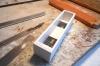 Allerdings sind es bei mir offene ''Schachteln'' geworden, die hier schon mal mit Blei für das richtige Modellgewicht ergänzt sind.